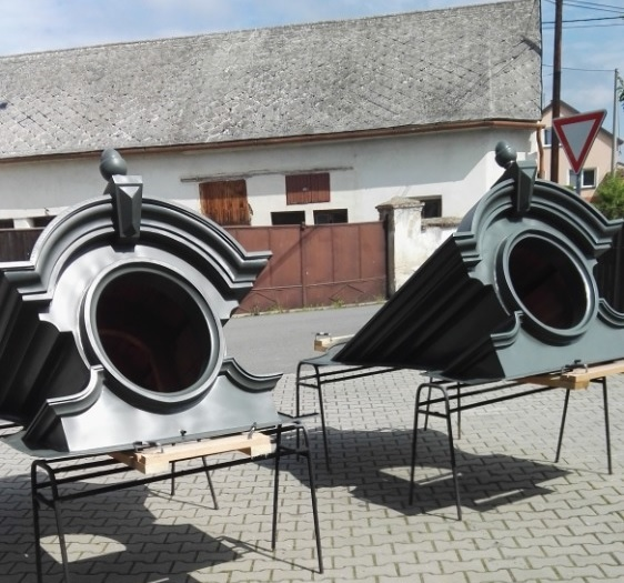 ART OF ZINC 2020 - Umělecký detail 1. místo_RHEINZINK- CLASSIC walzblank a ornamentální plech