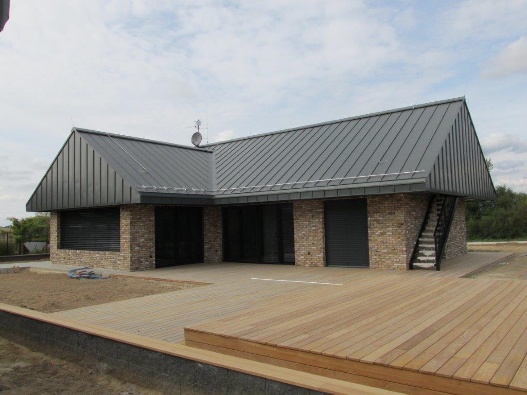 ART OF ZINC 2020 Střecha 1. místo_Klempířství Pečený, RHEINZINK- prePATINA schiefergrau