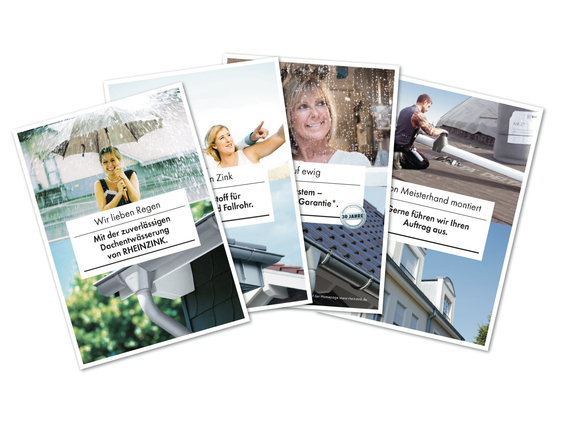 Download RHEINZINK brochures overzicht